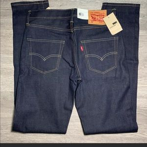 Levi's 522 Selvedge Denim Slim Taper